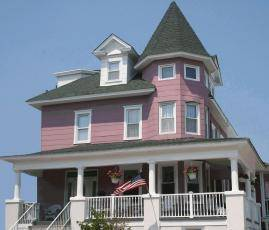 Ocean City Beautiful 7BR Beach Block Victorian Sleeps 19, Wifi, Cable & AC