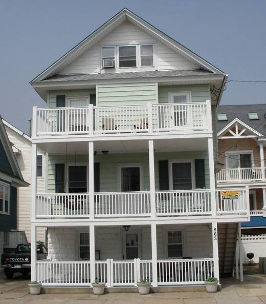 Ocean City Beach Block Family Vacation Home