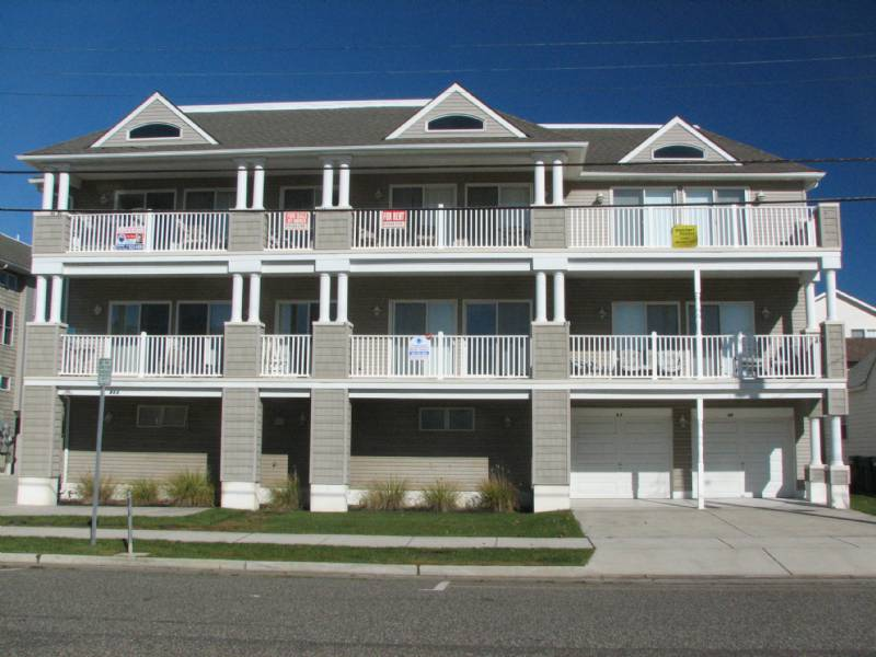 North Wildwood September Availability - 4 Bdrm Bch Block 22nd Ave Condo