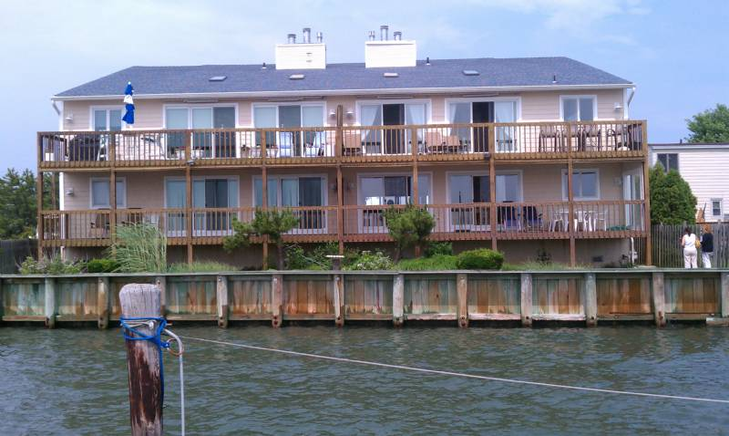 Brigantine Bayfront 3-Bedroom Condo with Boat Slip, Gorgeous Sunsets!!